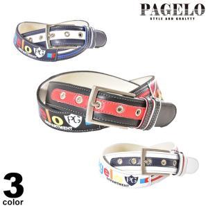 パジェロ PAGELO ベルト メンズ 2020春夏 ロゴ p0-9103-07|realtree
