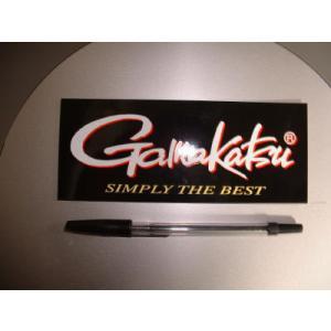 Gamakatsu/がまかつ!STB英文字ブラックステッカー(貴重タイプ)