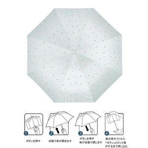 KIZAWA 傘 ワンタッチ 自動開閉 折りたたみ傘 レディース傘 高強度 グラスファイバー 雨傘 日傘 耐強風 晴雨兼用傘 オシャレなスト|reap