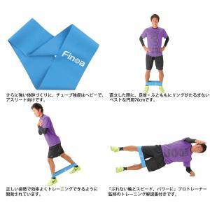 Finoa(フィノア) トレーニングチューブ シェイプリング (木場克己トレーナー監修) 22183|reap