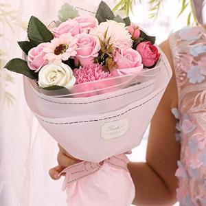 ソープフラワー 母の日 花 Minbau 枯れない 花 ギフト 花束 ボックス バラ 石鹸 フラワー お祝い 誕生日 記念日 女性 先生の日 reap