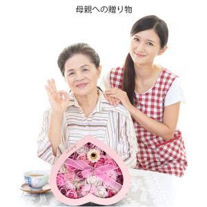 フラワーソープ 石鹸の花 ソープフラワー 枯れないお花 母の日 バレンタインデー 誕生日 お祝いや休日の贈り物に最適です 29.2*26*1 reap