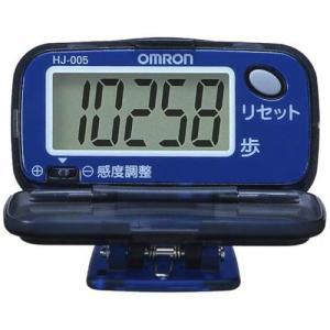 オムロン(OMRON) 歩数計 ヘルスカウンタ ステップス オーシャンブルー HJ-005-A|reap