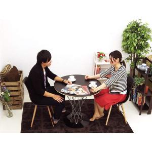 イサムノグチ サイクロンテーブル 直径80cm コンパクト -Isamu Noguchi- ブラック...
