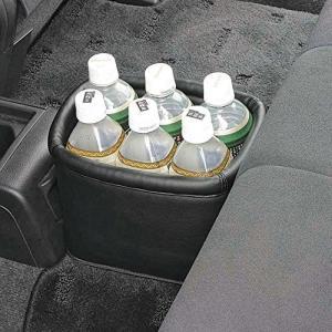 ナポレックス 車用 ゴミ箱 ダストボックス レザー調 ブラック 大容量 JK-34