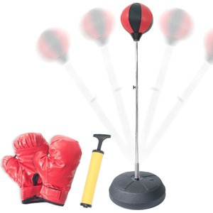 Melion ボクシング サンドバッグスタンド 自宅 組立簡単 ストレス解消 格闘技セット (大人用)|reap