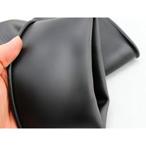 bath&bath ゴム手袋 60cm ロング 厚手 サンドブラスト メッキ グローブ 消毒...