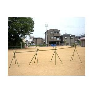 流しそうめんの竹セット(水路1.8m×3)+脚(1.2m)4組|rear-colle