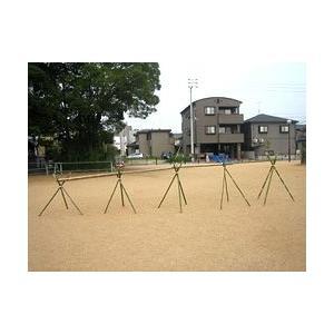 流しそうめんの竹セット(水路1.8m×4)+脚(1.2m)5組|rear-colle
