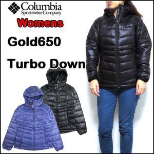コロンビア レディース ダウンジャケット Gold 650 Turbo Down Hood