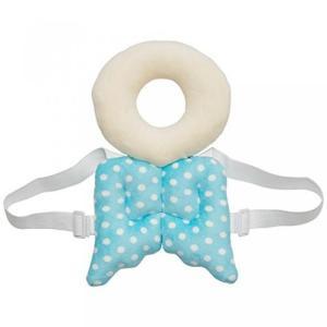赤ちゃん 保護 クッション 後頭部 天使のパッド 安全パッド ベビー 転倒 吸収 クッション セーフティ 枕 リュック ブルー NS-BABY-GUARD-BL|rebias