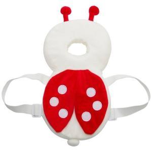 赤ちゃん 保護 クッション 後頭部 天使のパッド 安全パッド ベビー 転倒 吸収 クッション セーフティ 枕 リュック テントウムシ NS-BABY-GUARD-TEN|rebias