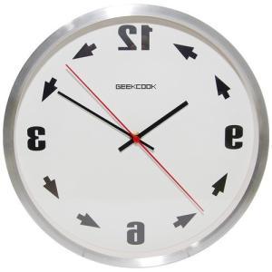 反転 壁掛け 時計 反対 逆回転 反時計回り 鏡面 鏡 逆転 メタル 金属 ウォール クロック 化粧鏡 インテリア 雑貨 シルバー NS-GYCLOCK-SV|rebias