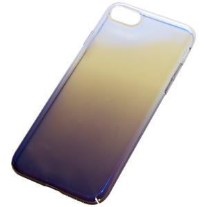 iPhone7 7Plus 用 グラデーション ケース 保護ケース マジョーラ スマートフォン iPhone7用ブラック NS-MAJOCASE-BK-N|rebias