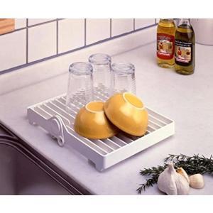 水切り カゴ ラック そのまま 食器 収納 2WAY 食器棚 水切りトレー NS-TPLATE|rebias