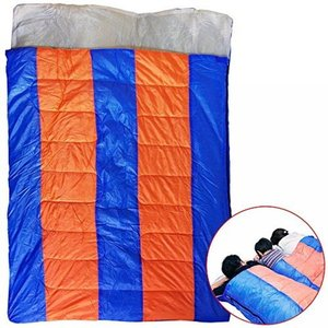 BIG ダブルサイズ 家族用 寝袋 ビッグ シュラフ アウトドア ファミリー キャンプ 睡眠 ポータブル 車中泊 NS-WNEBUKURO|rebias
