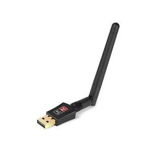 無線LAN アダプタ 600Mbps デュアルバンド アンテナタイプ 超小型 超高速接続 最大 433Mbps 親機 子機|rebias