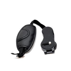 カメラ ハンド ストラップ レザー調 ネック デジカメ 一眼レフ用 手首 ホールド 固定 安定 撮影 rebias