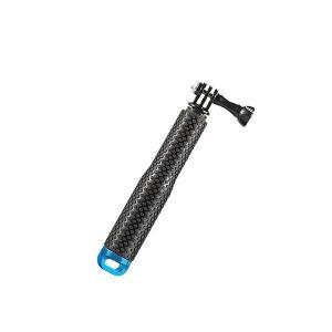 GoPro用 自撮り スティック 伸縮 自在 棒 軽量 タイプ スリム セルカ 安定 撮影 アルミニウム 合金 rebias