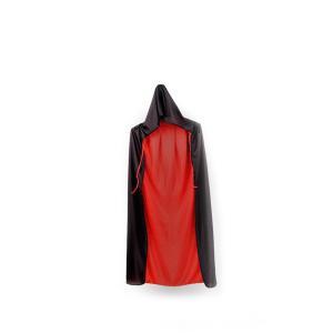 リバーシブルフードマント ブラックレッド コスプレ 魔法使い イベント 衣装 仮装 ハロウィン クリスマス|rebias