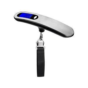デジタル ハンギング スケール 最大 50kg 吊り下げ式 はかり 携帯式 小型 軽量 荷物 重さ ラゲッジ チェッカー|rebias