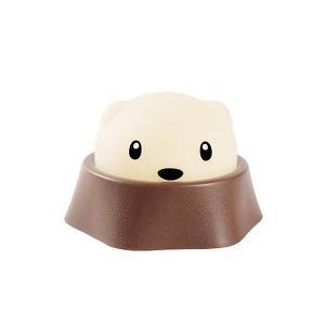 もぐら LED プッシュライト USB 充電 癒やし 動物 アニマル 子供 小動物 照明 電気|rebias