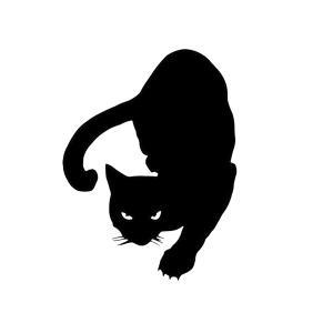 はんたー 猫 ステッカー にゃんこ cat hanter 戦う バトル 車 バイク 家電 戦闘 ネコ|rebias