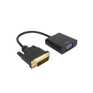 DVI VGA 変換ケーブル 変換アダプタ VGAケーブル DVI-D 24+1 to VGA 変換|rebias