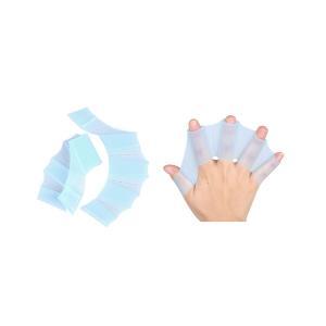 水かき シリコン 2個セット 水泳補助 水泳 マリンスポーツ トレーニング プール 海水浴|rebias
