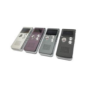 ボイスレコーダー 録音 メモリ 8GB ICレコーダー デジタル 液晶 WAV WMA MP3 Voice REC|rebias
