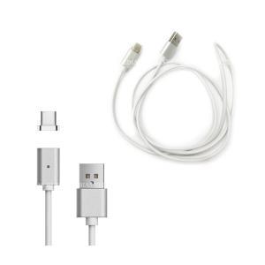 マグネットケーブル USB Type-C 高速データ 転送 急速 充電 両面挿し USB ケーブル リバーシブルケーブル|rebias