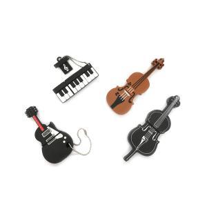 楽器 USBメモリ 16GB ギター ピアノ バイオリン チェロ フラッシュ メモリー|rebias