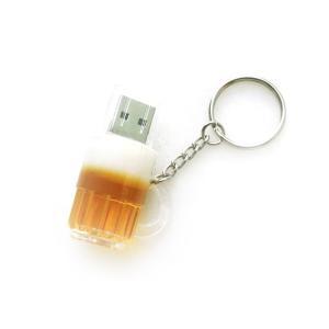 ビール USBメモリ 16GB ジョッキ 生 BEER 乾杯 飲み会 フラッシュ メモリー|rebias
