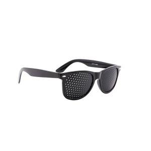 ピンホールメガネ アイケア 目 疲労 リフレッシュ 瞳 eye 筋力 トレーニング ウェリントン Pinhole メガネ 眼鏡|rebias