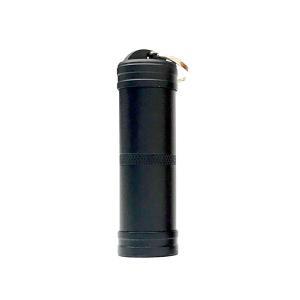 アルミニウム 防水 ピルケース 上下開きタイプ ミニサイズ アウトドア レジャー 小物入れ ホルダー|rebias