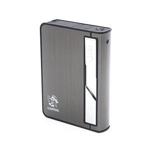 電子ライター タバコ 収納可能 ライター USB充電 ケーブル付 煙草ケース 電子 電熱式 着火 rebias