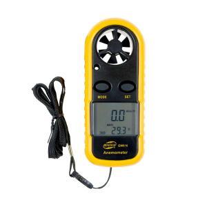 デジタル 風速計 温度計 6枚羽根 高精度測定 防水 バックライト搭載 ポケットアネモメーター|rebias
