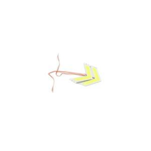 矢印型 アロー ウインカー COB 左右セット サイドミラー ドアミラー 内蔵型 LED|rebias