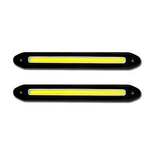 COB LED デイライト フレキシブルタイプ 黒ベース 高...