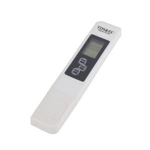 TDS EC メーター デジタル 水質測定器 水質検査 コンパクトタイプ 水耕栽培 培養液調整 物質濃度 テスター rebias