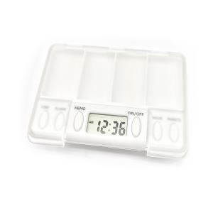 アラームピルケース サプリケース アラーム機能付 薬入れ 医薬品 小物入れ|rebias