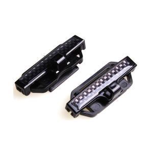 スリムシートベルトストッパー フック付き 2個セット 圧迫感軽減 スリムタイプ 内装|rebias