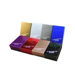 メタルシガーケース タバコケース シガーケース アルミ 金属 軽量 シンプル|rebias