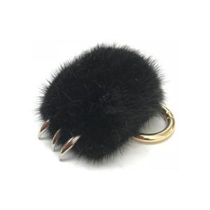 猫 キーホルダー 爪 手 ねこ ネコ かわいい ハンド つめ 猫パンチ ふわふわニャンクロー|rebias