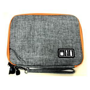 ビッグオーガナイズバッグ デジタル機器 バッグ ケース iphone android スマホ ipad タブレット ケーブル 周辺機器 充電器|rebias