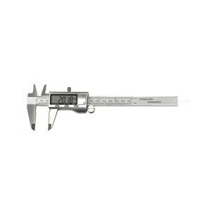 スーパーバーニアキャリパー ステンレス製 精密 デジタルノギス 0.01mm mm inch 測定|rebias