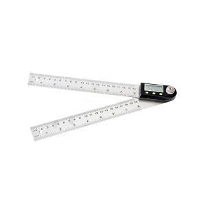 デジタルアングルメーター 角度 測定 計測 デジタル プロトラクター 分度器 液晶 数値表示|rebias