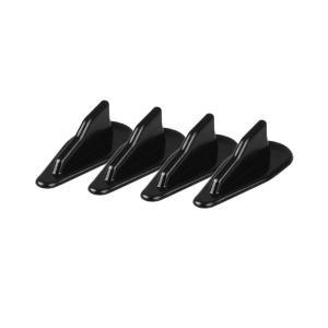 ボルテックスジェネレーターA 簡単 両面テープ エアロ パーツ 整流 フィン 4個セット 外装|rebias