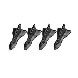ボルテックスジェネレーターB 簡単 両面テープ エアロ パーツ 整流 フィン 4個セット 外装|rebias