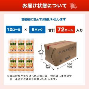 【送料無料】太巻き 50m ダブル 12ロール 6パック【ロール単価57.71円】|rebirth-inc|04
